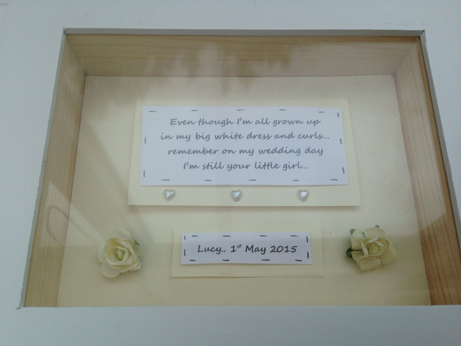 Wedding Gift Box Frame : ... Chic Mother Of The Bride Wedding Gift Box Frame Present Mum
