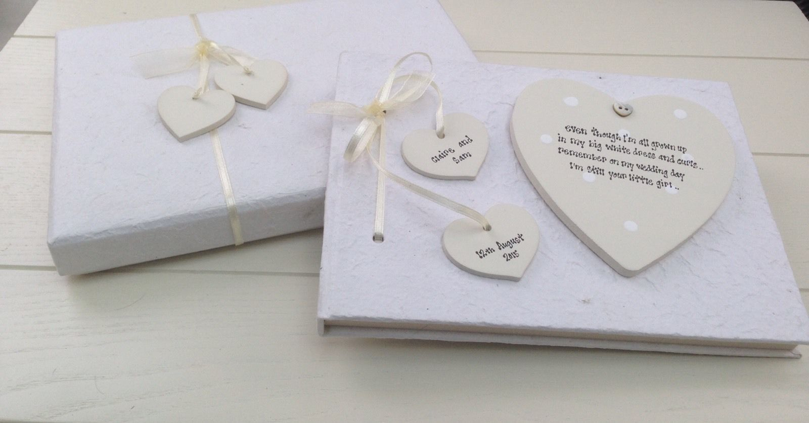 ... Personalised Chic PHOTO ALBUM Mother Of The Bride Present Wedding Gift