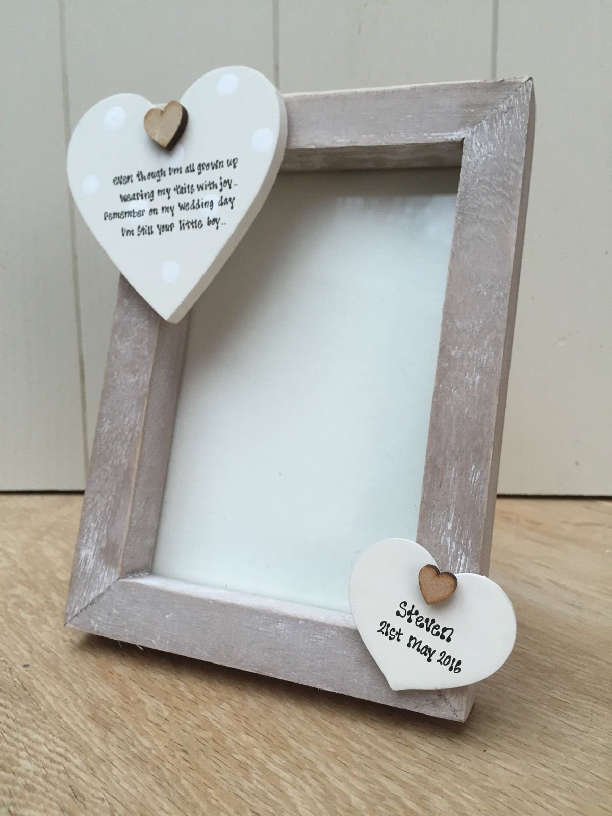 Wedding Gift Amount Sister : ... personalised Chic Photo Frame Mother Of The Groom Wedding Day Gift