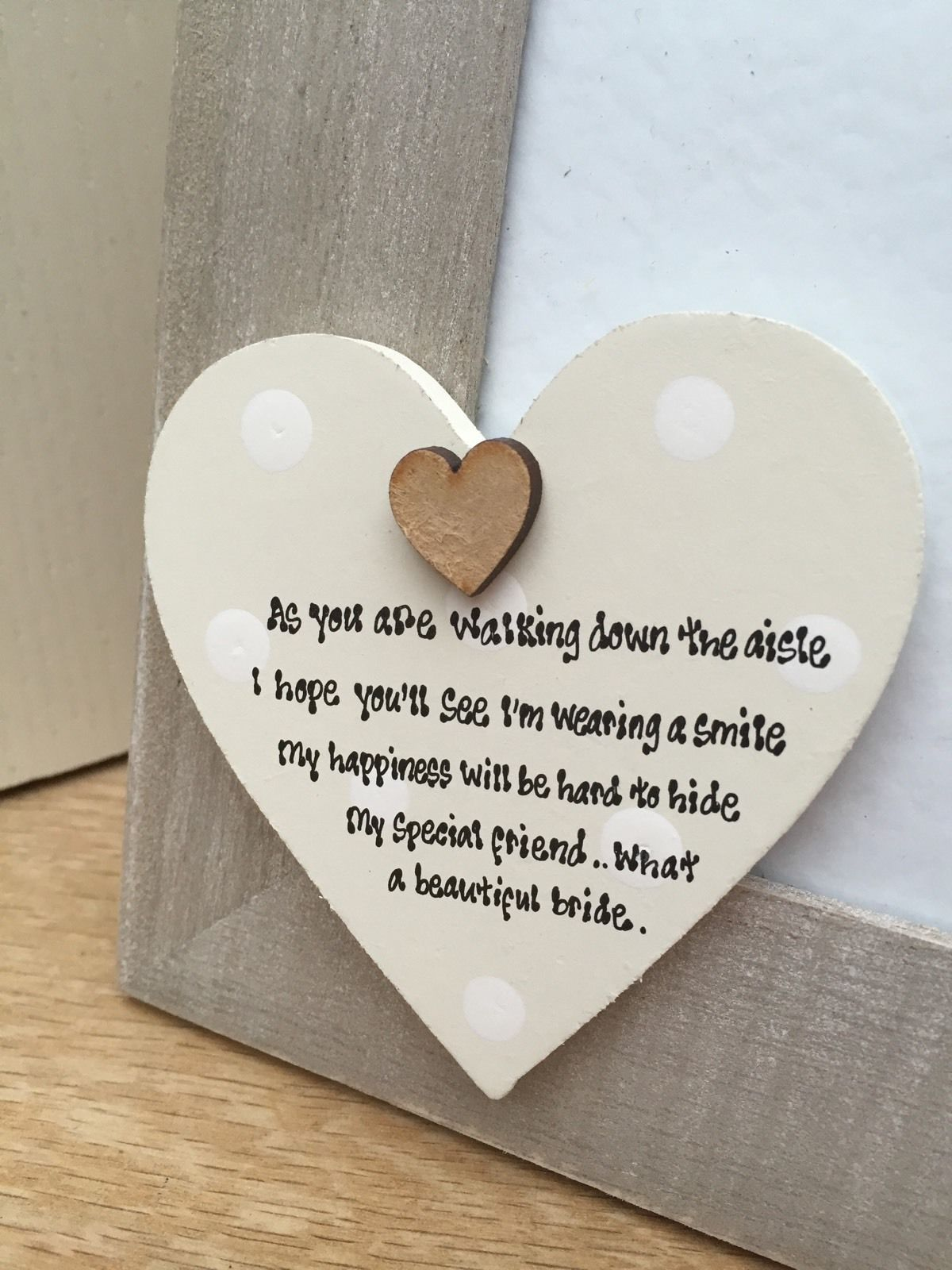 Ideas Wedding Gift For Wife On Day Shabby Personalised Chic