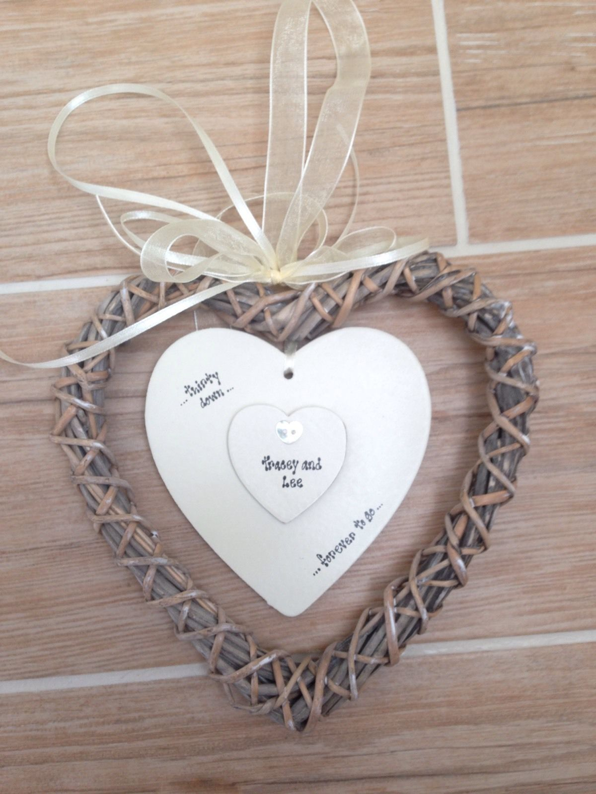... Gift Chic Wedding Anniversary Willow 25th 30th 40th 50th 60